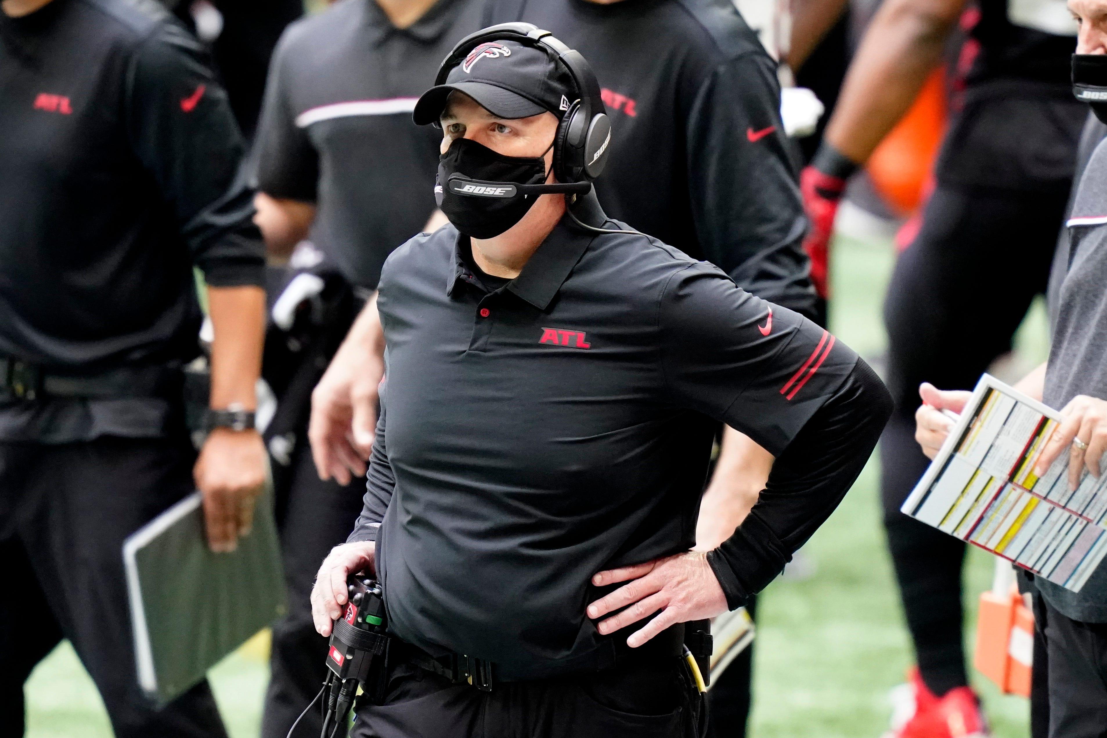 Atlanta Falcons fire coach Dan Quinn, GM Thomas Dimitroff after 0-5 start