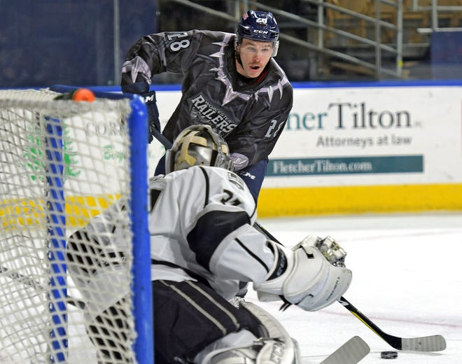Holden native Connor Doherty was dealt by the Railers to Maine on Friday.