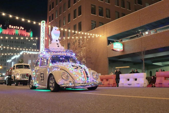 Officials with Center City of Amarillo announced Monday the cancellation of its 2020 Electric Light Parade.