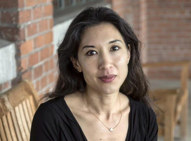 Tina Cane, R.I.'s poet laureate.