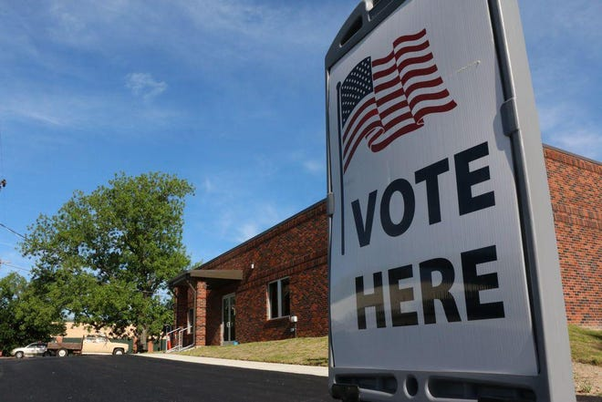 Early voting in Brown County takes place in the Elections Administration Office, 613 N. Fisk.