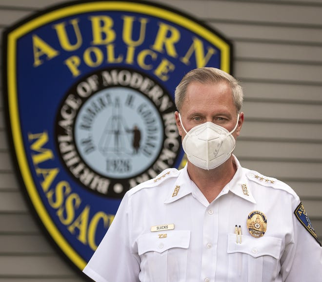 Andrew J. Sluckis Jr., chief of the Auburn Police Department, said recent car break-ins and thefts have occurred in his town as well as surrounding cities and towns.