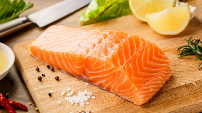 Salmon (and other fatty fishes)     Salmon is an excellent source of omega-3 fatty acids and vitamin D. It can be baked, poached, or added to dips or salads.