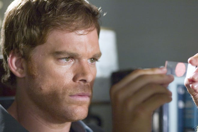 """Actor Michael C. Hall on the hit show """"Dexter,"""" which is slated to film scenes in and around Worcester later next month."""