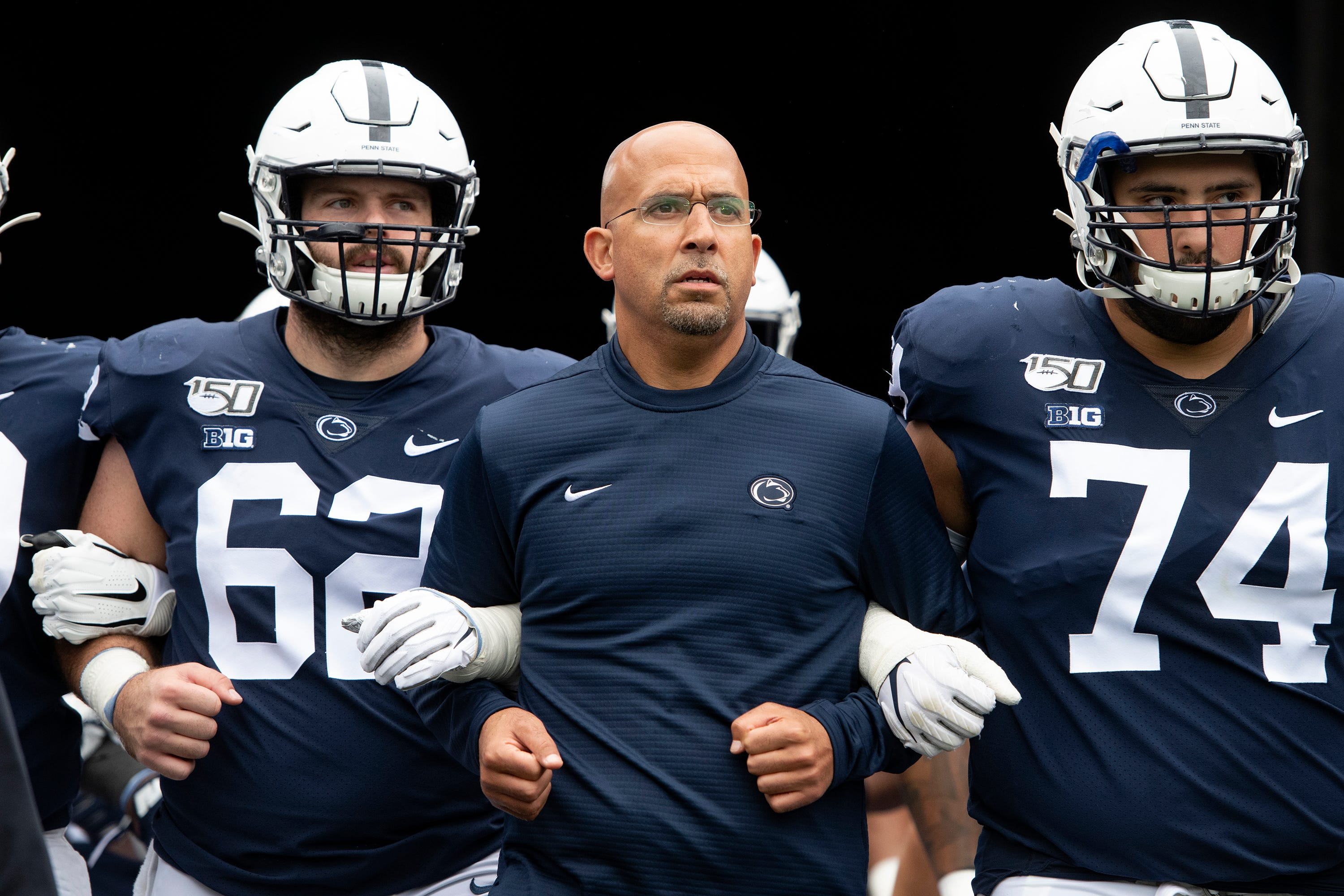 Report: Ex-Penn State football player claimed coach James Franklin told him not to tell police about fight