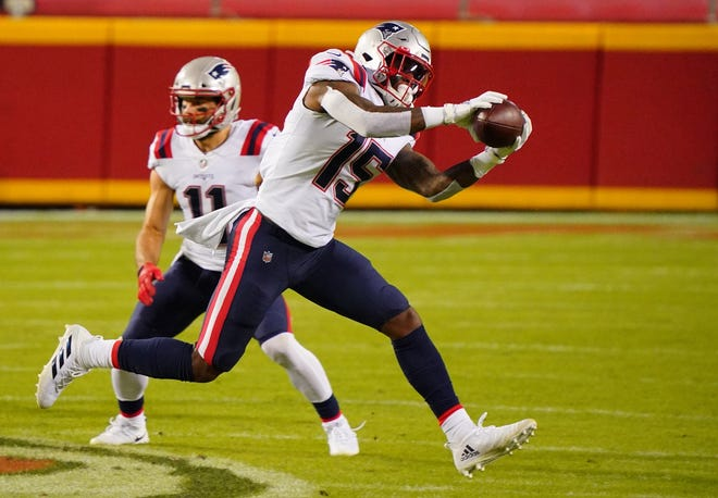 Wide receiver N'Keal Harry needs to step up in his third season with Patriots.