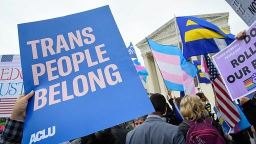 LGBT activists and their allies in the Kansas legislature are pushing back against bills that would restrict how transgender individuals can participate in sports and when they can receive treatment that helps them transition.