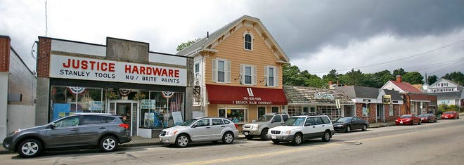 Broad Street businesses in Weymouth's Jackson Square.