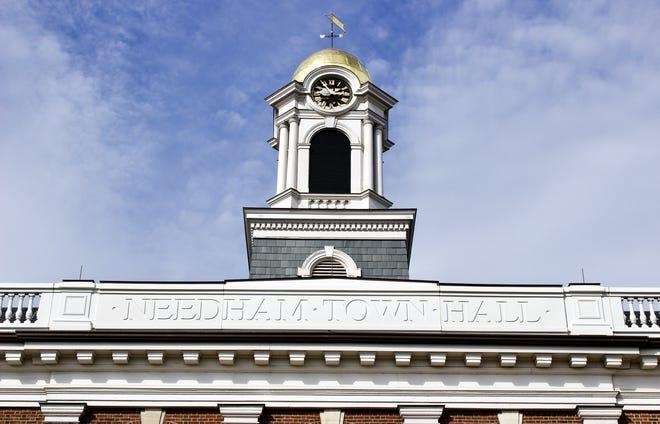 Needham Town Hall.
