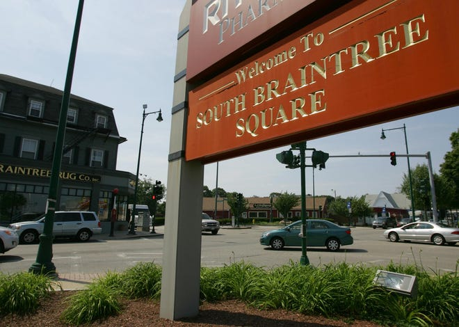 Traffic changes are coming to South Braintree Square.