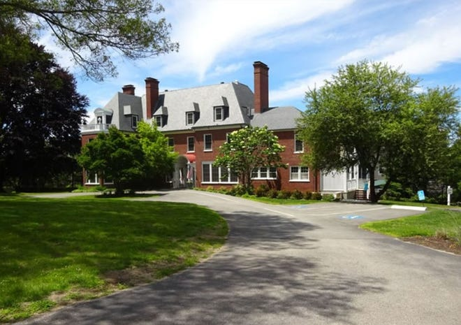 The Pat Roche Hospice Home in Hingham is in the former New England Friends Home at the top of Turkey Hill.