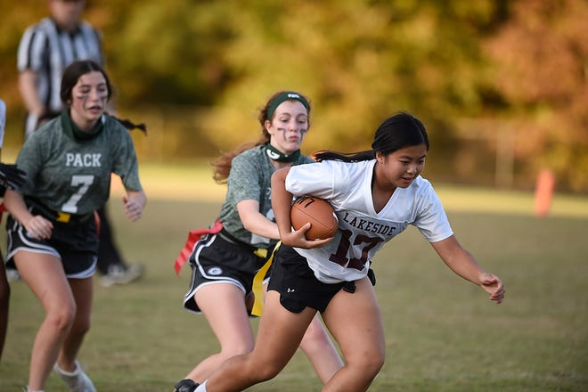 Following its inaugural flag football season, Columbia County announced its all-region team featuring players from Evans, Greenbrier, Grovetown, Harlem and Lakeside.