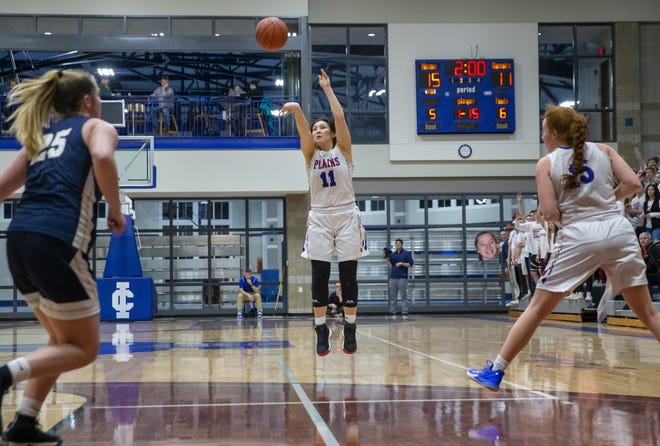 Pleasant Plains High School's Asya Smith is The State Journal-Register's Small School Girls Basketball Player of the Year.