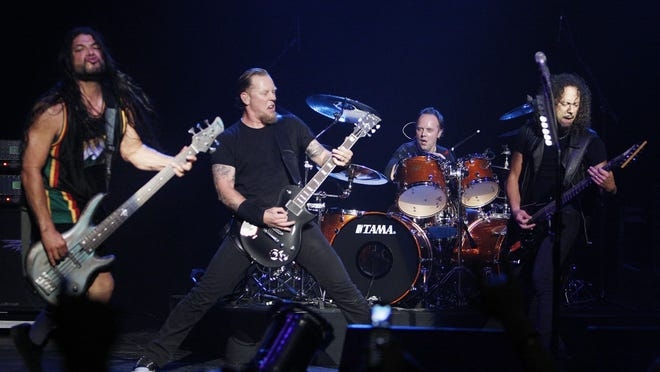 Metallica are among the most commercially successful bands of all time.