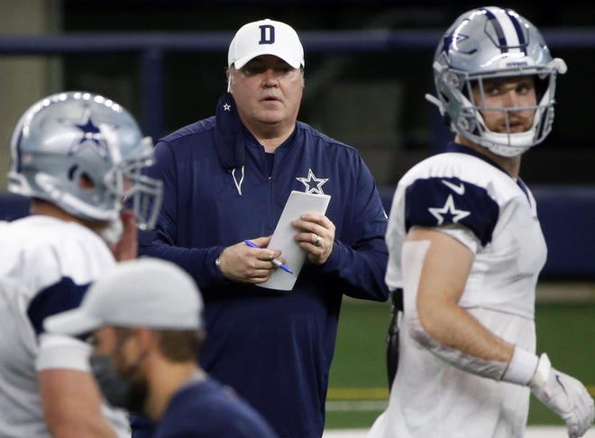 Dallas Cowboys head coach Mike McCarthy is 2-7 with a squad with multiple season-ending injuries, including his starting quarterback Dak Prescott and left tackle Tyron Smith.