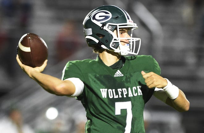 Greenbrier quarterback Brooks Pangle helped lead the Wolfpack to a 34-31 win over Lakeside on Friday. The win brought Greenbrier to 1-1 on the season.