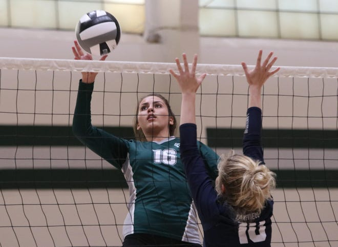 Athens Academy's Ali Rumpel had Rumpel had nine kills, 16 service points, four blocks and nine digs as the Spartans defeated Chestatee this week.