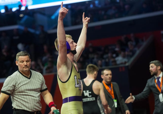 Litchfield High School's Will Carlile is The State Journal-Register's Small School Wrestler of the Year.
