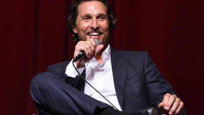 Actor Matthew McConaughey said he would consider running for governor.