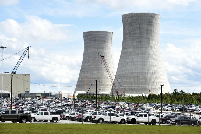 The nuclear expansion at Plant Vogtle could be delayed by one month or more at a cost of about $25 million for each month, Georgia Power says.