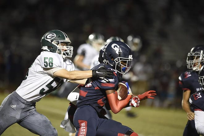 Grovetown takes on Greenbrier during football action at Grovetown High School in Grovetown, Ga., Friday evening Sept. 25, 2020.