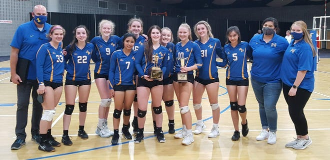 The Augusta Prep volleyball team finished runner-up in the Georgia Independent School Association championship Oct. 12 in McDonough, Ga. The Cavaliers, led by Region 4 Coach of the Year Rich Bland, won their 16th region championship in 19 years and advanced to the state final for the first time since 2013. Seniors Virginia Chew (10) and Angela Shaver (31) were named all-state, along with junior Elizabeth Nesbit (16).
