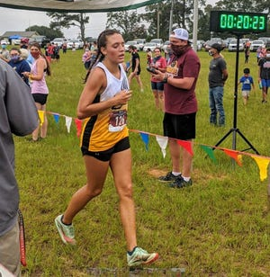Evans junior Simone Rojas to the girls' top spot in the Region 3-AAAAAA cross country meet at Wildwood Park last week. In the process, she qualified for the Georgia High School Association state meet in Carrollton, Ga. on Friday.