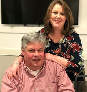 Former Augusta Utilities Director Tom Wiedmeier, seen with his wife Kelly Lollis Wiedmeier, died Aug. 12 from COVID-19 complications. Richmond County has lost 369 residents to COVID-19 since it reached Georgia a year ago. [SPECIAL]