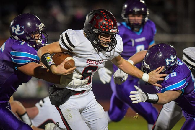 Rossville senior quarterback Torrey Horak entered Friday with 685 passing yards and two touchdowns and has rushed for 605 yards and two more scores.