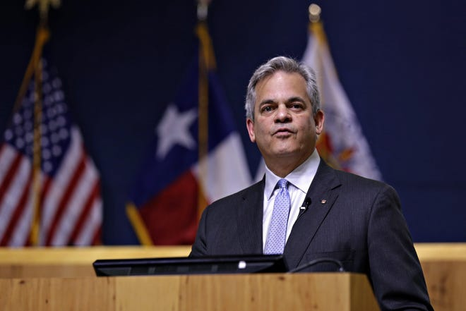 """During his State of the City address, Austin Mayor Steve Adler pushed back against critics of city government. """"No longer do we find ourselves just disagreeing with each other. There is a corresponding and almost inherent need to dislike, distrust and even demonize those with whom we disagree,"""" he said."""