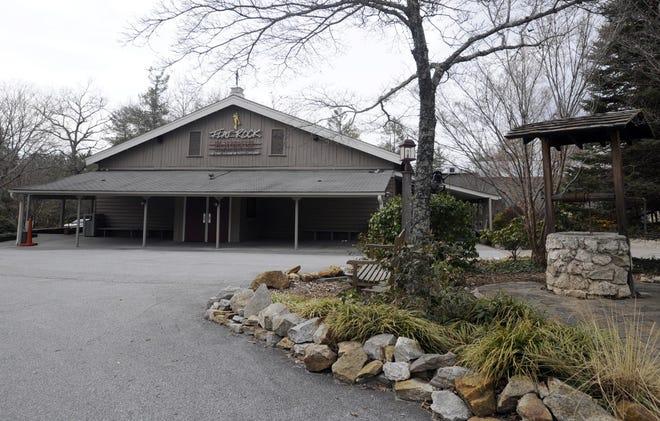 The Flat Rock Playhouse.