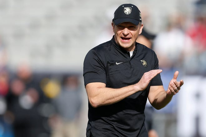 Army coach Jeff Monken is among the coaches believed to be candidates for the vacant Illinois coaching position.