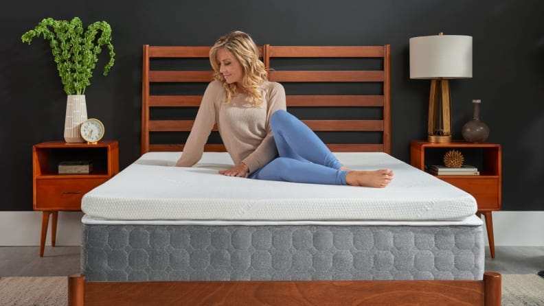 This Tempur-Pedic mattress topper is one of our favorites—and it's 40% off