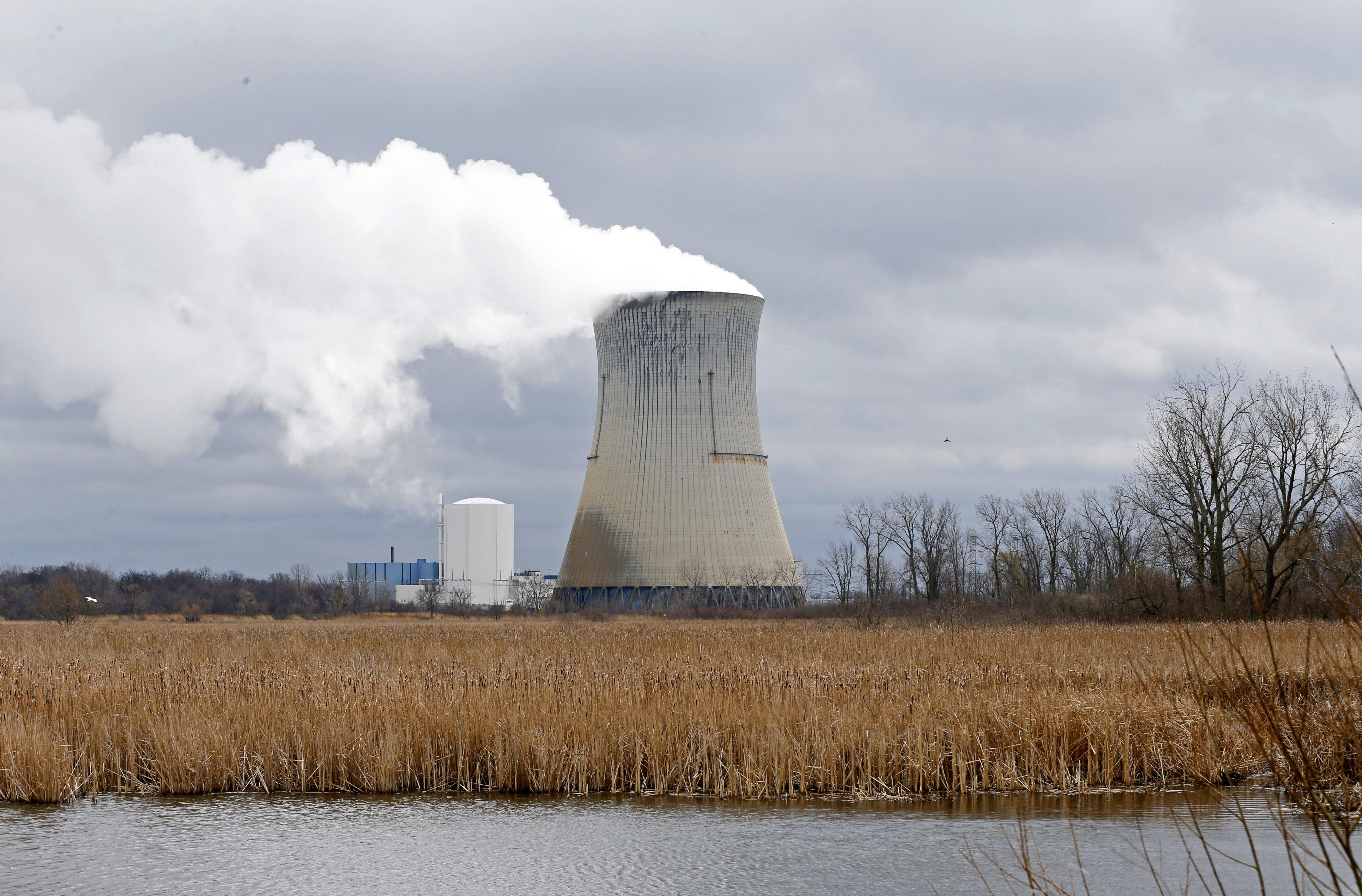 FirstEnergy Corp.'s Davis-Besse Nuclear Power Station in Oak Harbor, Ohio