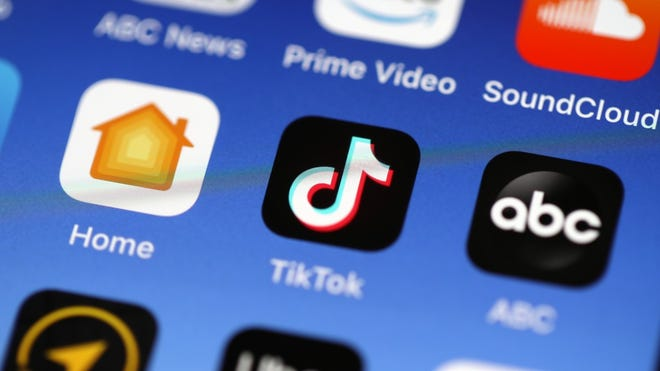Social media app TikTok has added an augmented reality feature for owners of Apple's new iPhone 12 Pro and Pro Max.