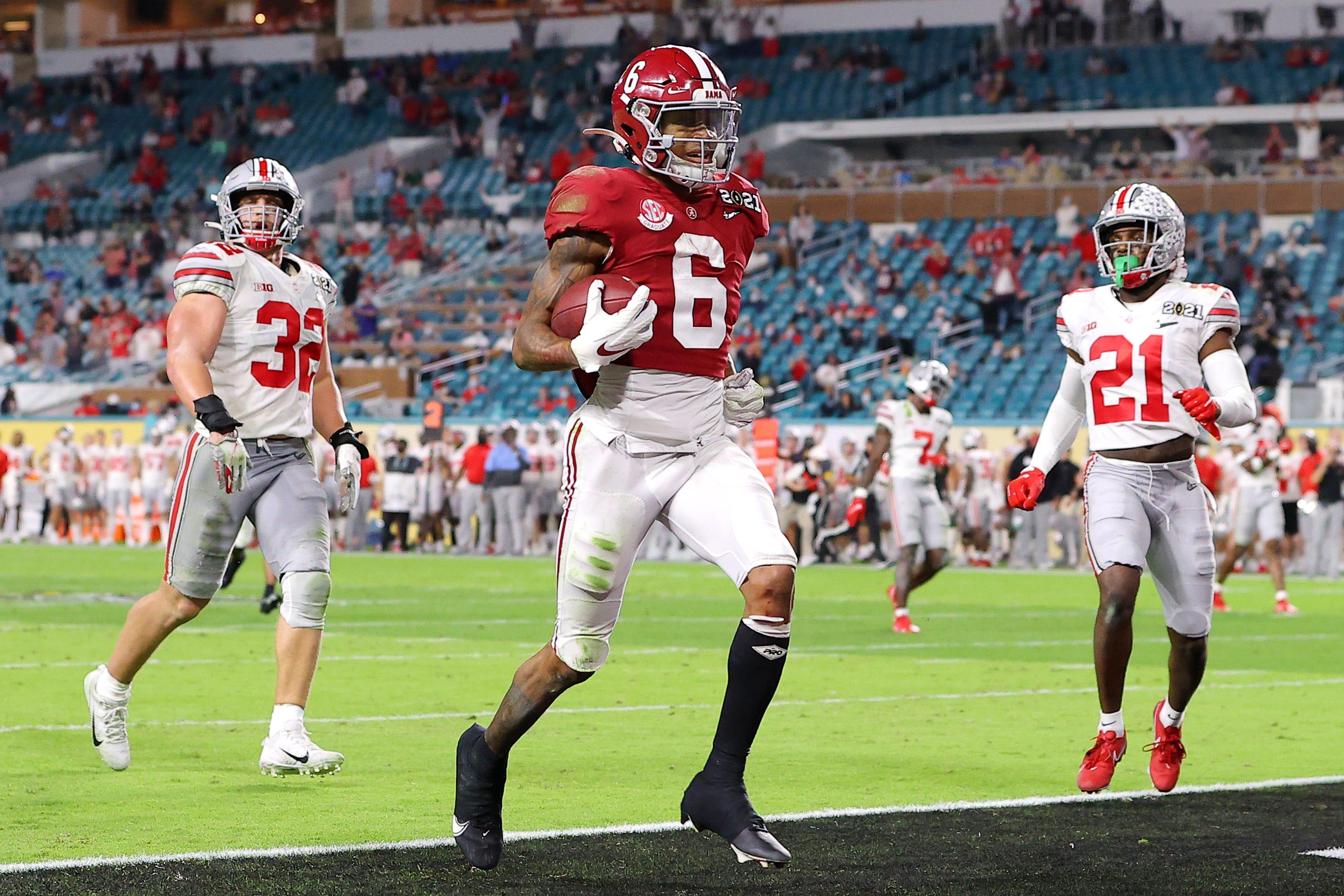 Alabama behauptet sich erneut als König des College-Fußballs und baut den Bundesstaat Ohio für den nationalen Titel ab