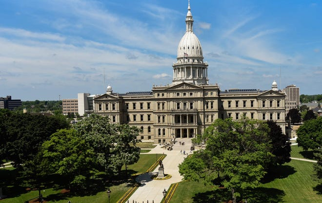 Michigan Republican legislative leaders pulled a GOP lawmaker from his committee assignments Monday after the lawmaker hinted he was part of a group that sought to disrupt or otherwise undermine the Electoral College vote slated to happen at the Capitol this afternoon.