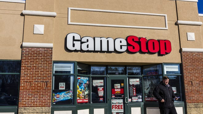 GameStop remains a retailer being consumed by e-commerce giants. Its present stock price and market value have no relationship to financial results.