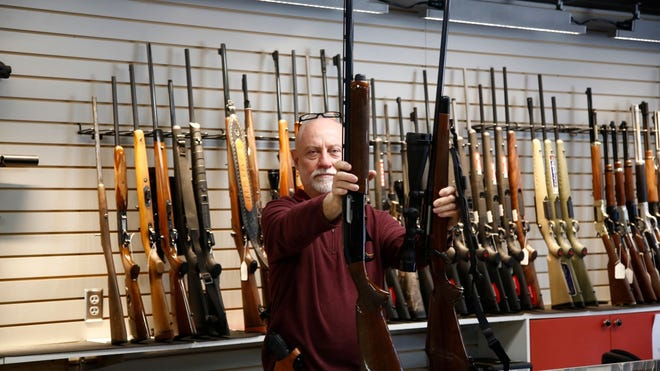 Gun sales in the United States surged in 2020, a trend experts say has a lot to do with fears stoked by lawlessness in the wake of COVID-19 and protests related to racial inequity.