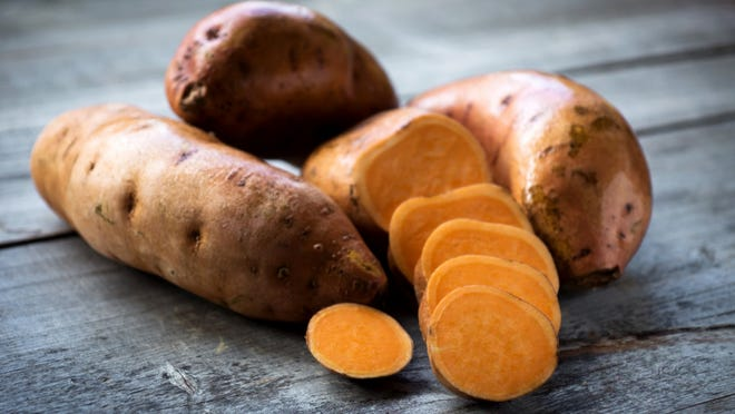 Sweet potatoes     Sweet potatoes provide potassium -- which neutralizes certain acids that deplete the bones -- and magnesium, and can be delicious baked and eaten plain with no salt or sweeteners.    ALSO READ: 29 Fall Superfoods That Will Boost Your Immune System