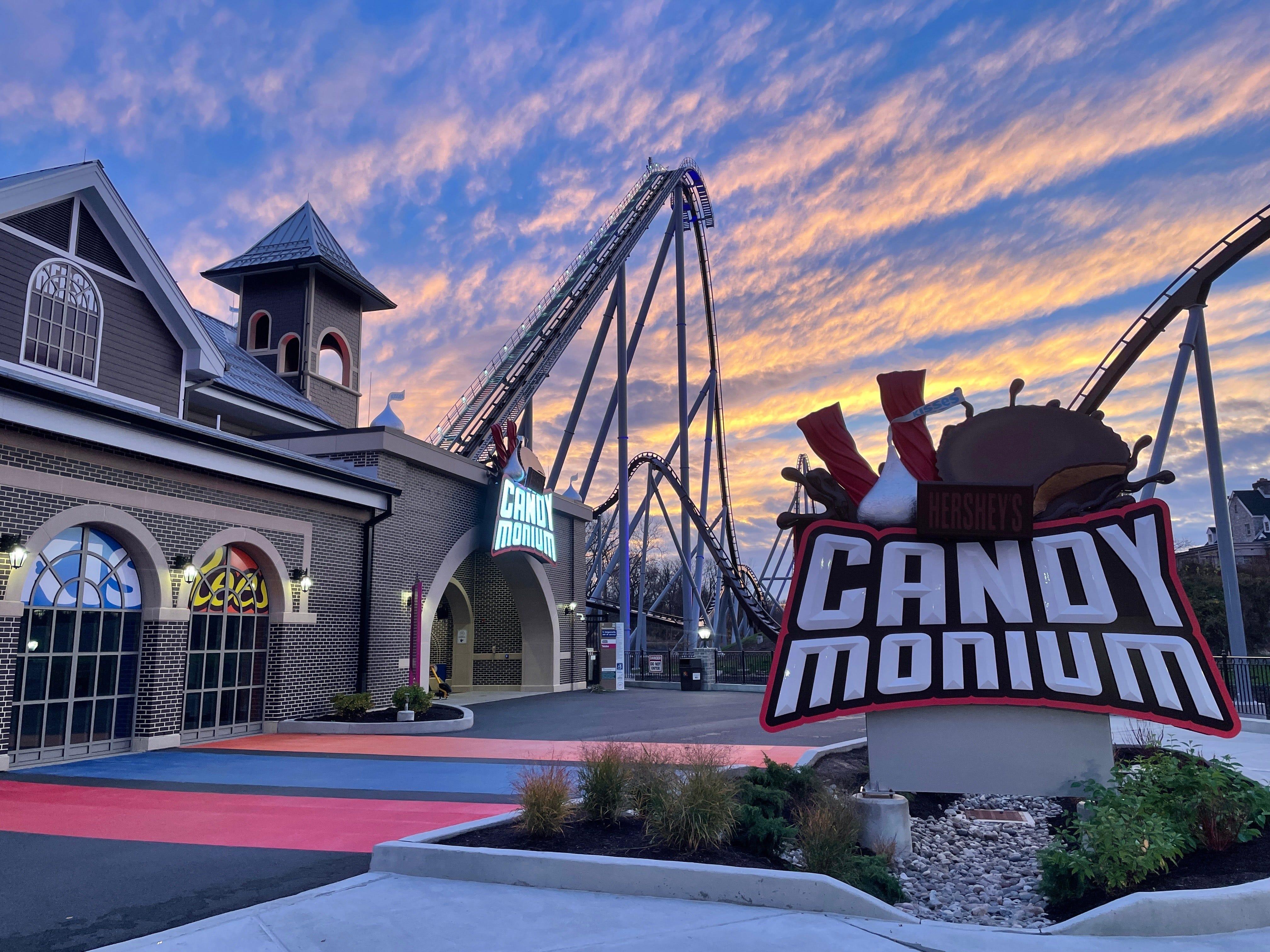 Candymonium at Hersheypark in Hershey, Pennsylvania.