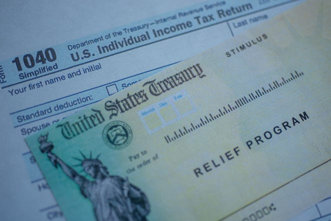 Stimulus Check and 1040 Tax Return