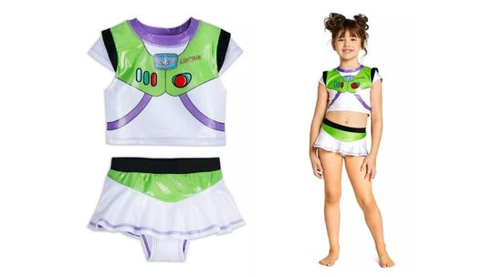Because girls can be Buzz, too!