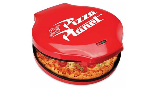 Perfect for the person who's always wished they could go to Pizza Planet.