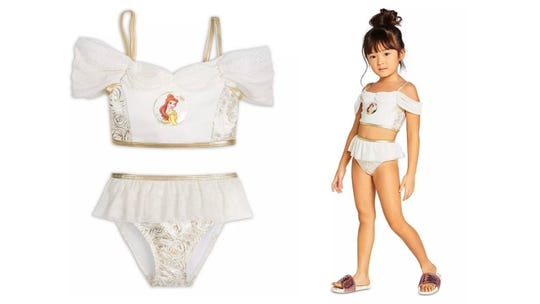 Let your little one embrace their inner princess while they swim.