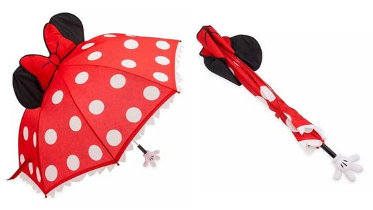 You'll actually look forward to rain with this cute accessory.