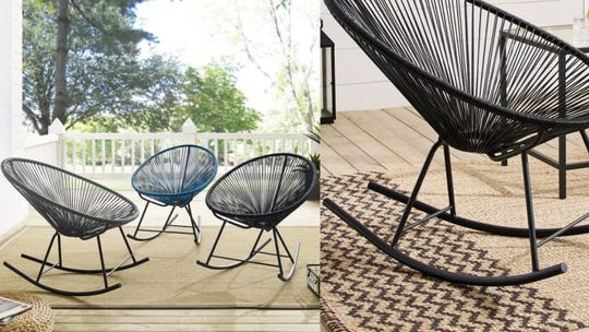 Give your patio a beachy upgrade.