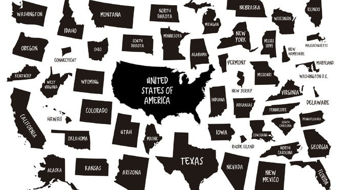 Each of the 50 states that comprise the United States of America has its own shape. How their shapes were determined provides insight into how the United States became a nation like no other.