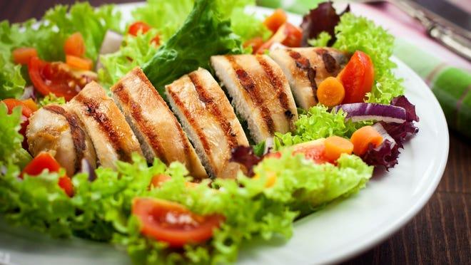 Acapulco chicken salad