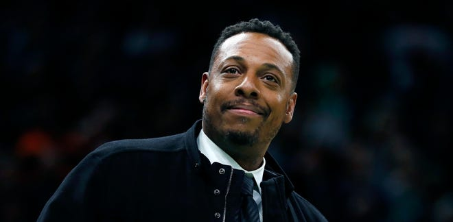 Paul Pierce and ESPN parted ways on Monday, according to two people with knowledge of the situation.